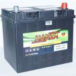 Аккумулятор для авто Hanza Gold asia 6СТ-60R+