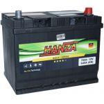 Аккумулятор для авто Hanza Gold asia 6СТ-70R+
