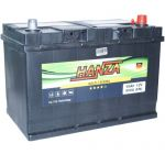 Аккумулятор для авто Hanza Gold asia 6СТ-95R+