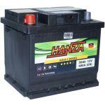 Аккумулятор для авто Hanza Gold 6СТ-50L+