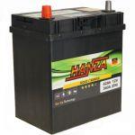 Аккумулятор для авто Hanza Gold asia 6СТ-42L+