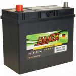 Аккумулятор для авто Hanza Gold asia 6СТ-45L+