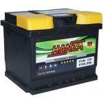 Аккумулятор для авто Hanza Platinum 6СТ-51R+