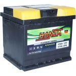 Аккумулятор для авто Hanza Platinum 6СТ-55R+