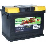 Аккумулятор для авто Hanza Platinum 6СТ-60L+
