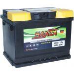 Аккумулятор для авто Hanza Platinum 6СТ-60R+