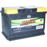 Аккумулятор для авто Hanza Platinum 6СТ-77R+