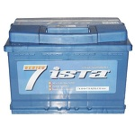 Aккумулятор для авто Иста 7 Series 6CT-74L+