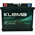 Автомобильный аккумулятор Klema 6СТ-50L+