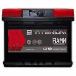 Автомобильный аккумулятор Fiamm Titanium pro black 6СТ-60R+