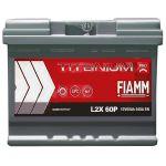 Автомобильный аккумулятор Fiamm Titanium PRO 6СТ-60L+