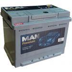 Аккумулятор для авто MAN Premium 60 L+