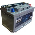 Аккумулятор для авто MAN Premium 75 R+