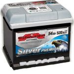 Аккумулятор Sznajder Silver Premium 54R (554 45)