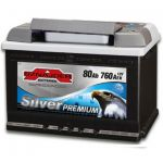 Аккумулятор Sznajder Silver Premium 80R (580 35)