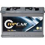 Аккумулятор для автомобиля Top Car Premium 6СТ-74R+