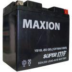 Аккумулятор Maxion GEL Moto 6CT-19R+(12V) YB 16L-BS