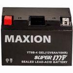 Аккумулятор Maxion GEL Moto 6CT-8L+(12V) YT 9B-4
