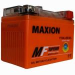 Аккумулятор Maxion GEL Moto 6CT-4R+(12V) YTX  4L-BS