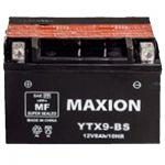 Аккумулятор Maxion AGM Moto 6CT-8L+(12V) YTX  9-BS