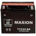 Аккумулятор Maxion AGM Moto 6CT-18L+(12V) YTX 20-BS