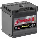 Аккумулятор для автомобиля A-mega Premium 6СТ-45L+