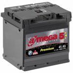 Аккумулятор для автомобиля A-mega Premium 6СТ-45R+