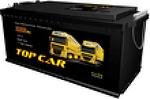 Аккумулятор грузовой Top Car 6СТ-140L+
