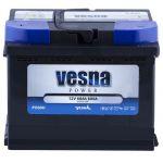 Аккумулятор для авто Vesna Power 6CT-60L+