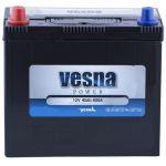 Аккумулятор для авто Vesna Power asia 6CT-45L+