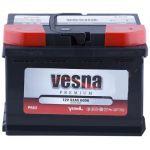 Аккумулятор для авто Vesna Premium 6CT-62R+