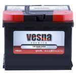 Аккумулятор для авто Vesna Premium 6CT-66R+