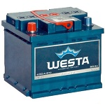 Аккумулятор для авто Westa 6СТ-50L+